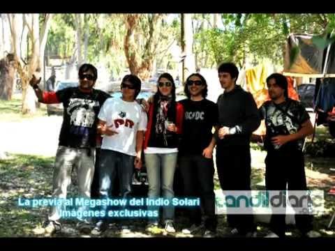EL INDIO SOLARI EN TANDIL 13-11-2010