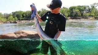Swimbait Fishing for Striped Bass with FishingTheMidwest!  - Vlog (Bass Fishing) Day 1 | DALLMYD