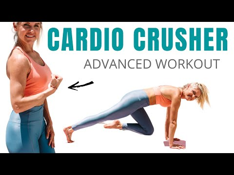 Cardio calorie burn at home (10 minute workout)