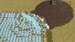500 MOTHERSHIPS vs 2000 MARINES - StarCraft 2 MASSIVE Battle