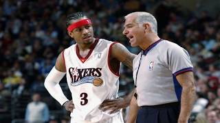 Allen Iverson Top 10 plays vs NBA Referees ! *Happy 42nd Birthday to AI