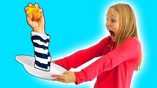 Amelia and Avelina playground fun and a magic apple adventure