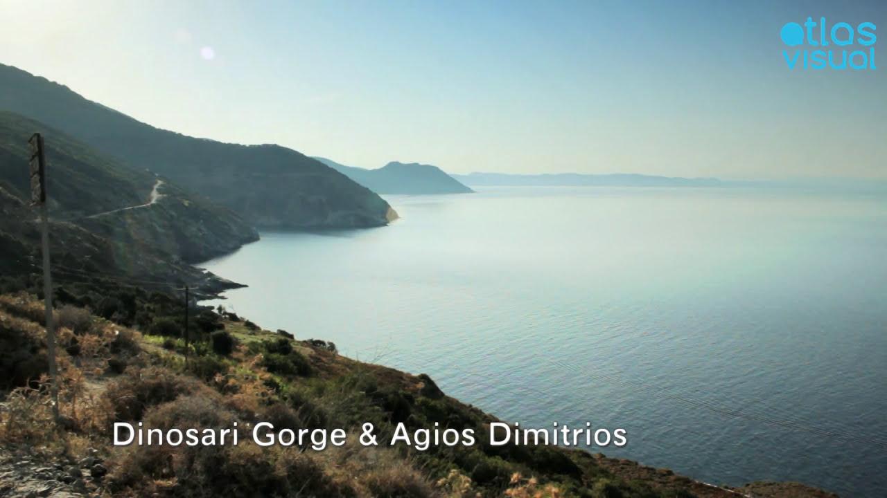 Dimosari Gorge & Agios Dimitrios