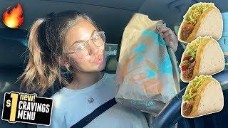 Trying Taco Bell's NEW Dollar Menu!! (MY NEW FAV ITEM)