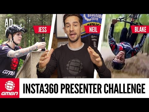 GMBN Insta360 Presenter Challenge | Who Makes The Best MTB Edit""