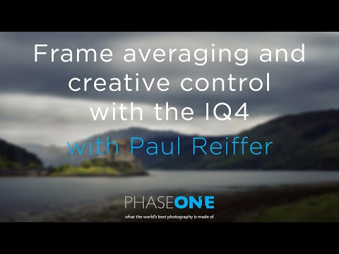 Education I Webinar - Frame averaging and creative control with the IQ4 | Phase One
