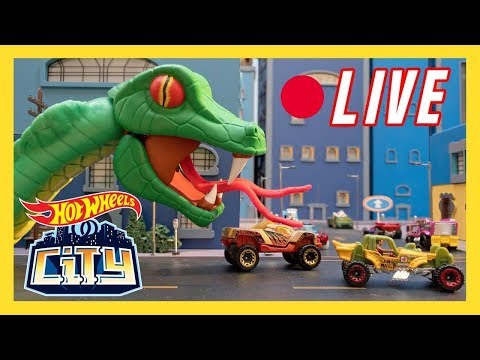 🔴 LIVE Hot Wheels City S1 - S3 Marathon | Hot Wheels