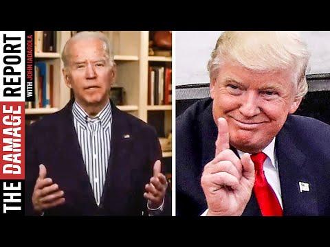 Biden Begs For Trump's Spotlight