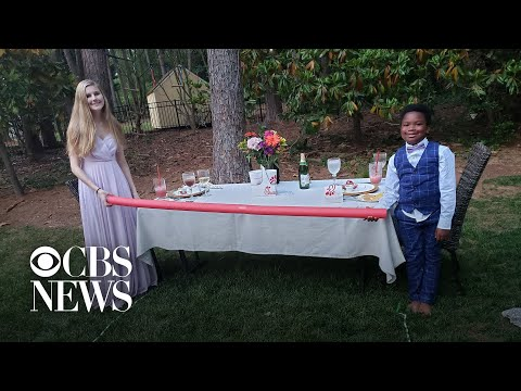 7-year-old throws prom for babysitter