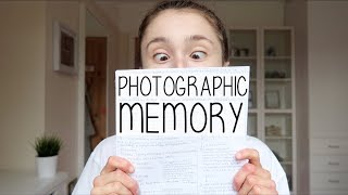 (AD) MY PHOTOGRAPHIC MEMORY? | HOW DO I LEARN A LOT OF INFORMATION FOR EXAMS THROUGH MAKING NOTES