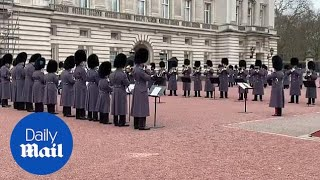 The Queen's Guard perform incredible Bohemian Rhapsody cover!