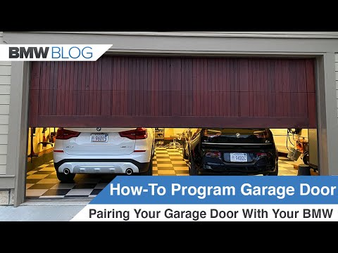 DETAILED GUIDE: How To Program Your Garage Door Opener In Your BMW (HOMELINK)