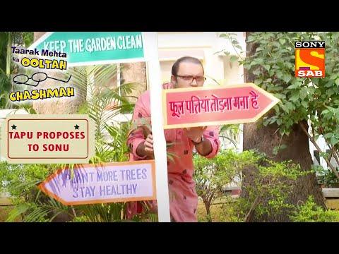 Bhide को पता करना है Tapu का Valentine Plan | Taarak Mehta Ka Ooltah Chashmah| Tapu Proposes To Sonu
