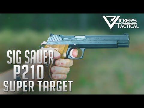 SIG Sauer P210 Super Target