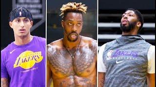 LA Lakers Preparing For Training Camp !!