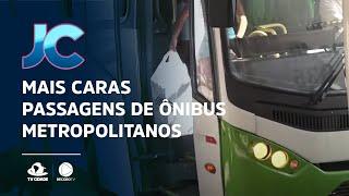 Passagens de ônibus metropolitanos de Fortaleza ficam mais caras