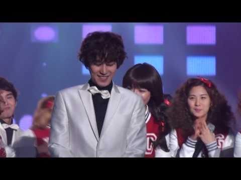 100203 Seoul Music Awards - Kyuhyun dancing Gee