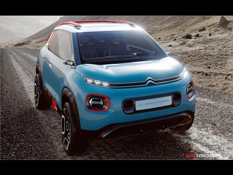 Car Design: 2017 Citroën C-Aircross Concept
