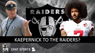 Kaepernick to Oakland? Raiders Rumors: Signing Jermaine Whitehead Or DeShawn Shead + Joyner Injury