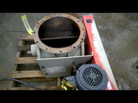 "Used 14"" Premier Pneumatics Rotary Airlock Valve"