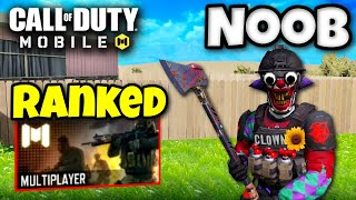 BATTLE ROYALE PLAYER plays RANKED MULTIPLAYER for FIRST TIME (COD Mobile)