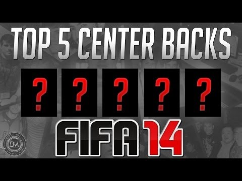 Top 5 Overpowered CB (Defenders) in FIFA 14 Ultimate Team (FUT 14) - Guide to the Best Squad