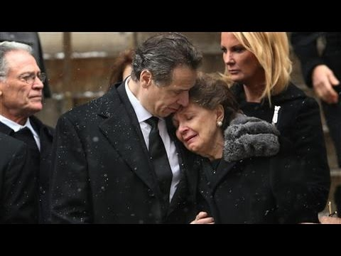 Family, Friends Mourn at Mario Cuomo's Funeral