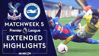 Crystal Palace v. Brighton | PREMIER LEAGUE HIGHLIGHTS | 10/18/2020 | NBC Sports