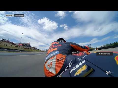 Red Bull KTM Factory Team OnBoard: HJC Helmets Motorrad Grand Prix Deutschland
