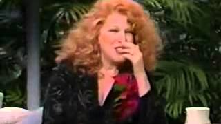 1988   Beaches Interview   Johnny Carson   Bette Midler   Part One