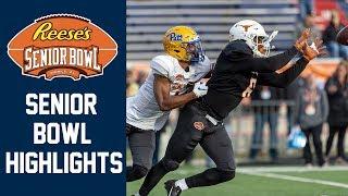 2020 Senior Bowl Highlights   2020 College Football