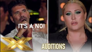 Hayley Hasselhoff: She FAILS To Impress Simon Cowell...SEE WHY!😪| The X Factor 2019: Celebrity