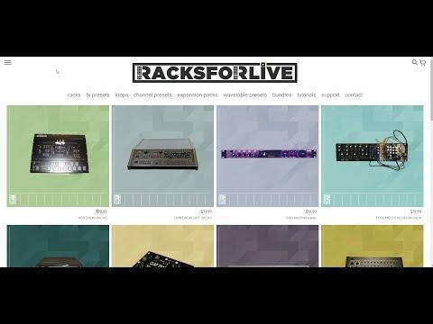 SoundsAndGear Live - RacksForLive.com Ableton Live Content by MSX Audio
