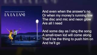 La La Land - Another Day of Sun - Lyrics