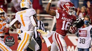 Tennessee Volunteers vs. Arkansas Razorbacks   2020 College Football Highlights