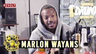Marlon Wayans | Drink Champs (Full Episode)