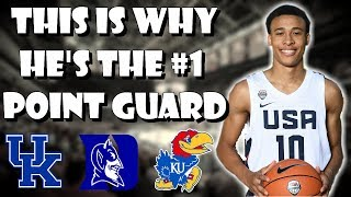 Here's Why RJ Hampton Is The #1 PG In 2020 | Point Guard Breakdown