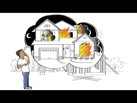 Educational video about home fire sprinklers
