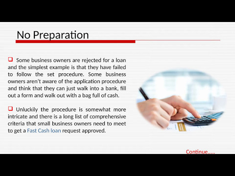 Know the Reasons Behind the Short Term Business Loans Rejection