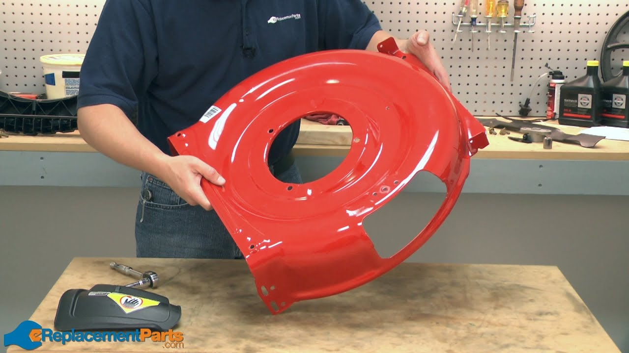 How To Replace The Deck On A Troy Bilt Tb130 Lawn Mower