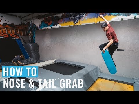 How To Nose & Tail Grab On A Snowboard