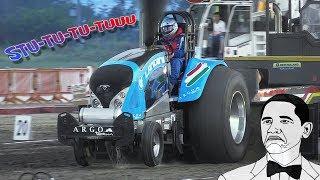 BEST Turbo Flutter Sound I've Ever Heard!! – 1200HP Landini Pro Stock Tractor