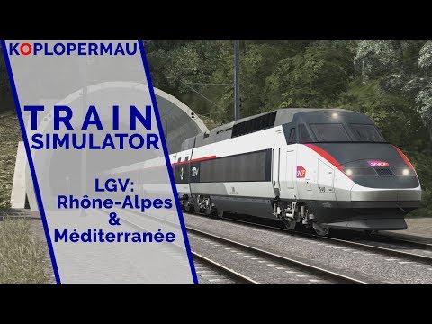 Train Simulator 2019: LGV Lyon - Marseille met de TGV Réseau