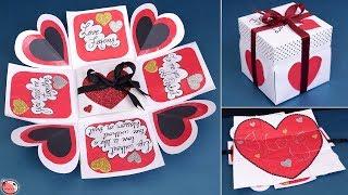 Valentine Special !! LOVE Greeting Card    DIY    Valentine's Day Gift Idea
