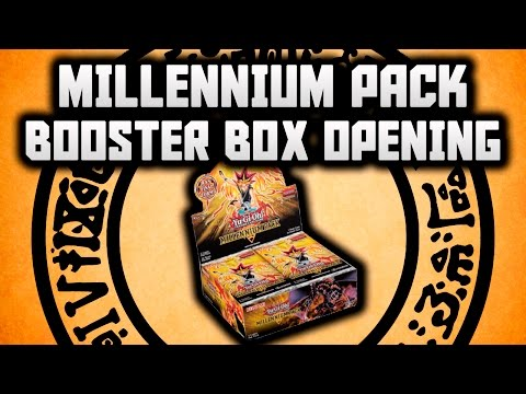 Yu-Gi-Oh! Sealed Booster BOX (36 packs) - Millennium Pack (1st Edition)