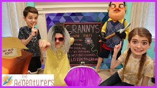 Escape Granny And Hello Neighbors House / That YouTub3 Family