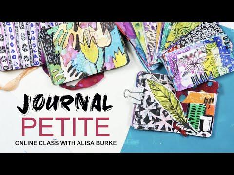 NEW online class journal petite