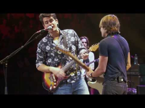 John Mayer with Keith Urban -  Don't Let Me down