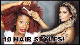 I TRIED FOLLOWING A CAUCASIAN's HAIR TUTORIAL [LAURA LEE] AND WELLLLL . . . 👀