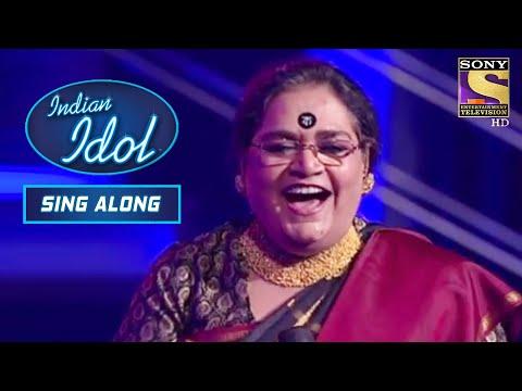 Usha जी ने Stage पे मचाई धूम!   Indian Idol   Sing Along